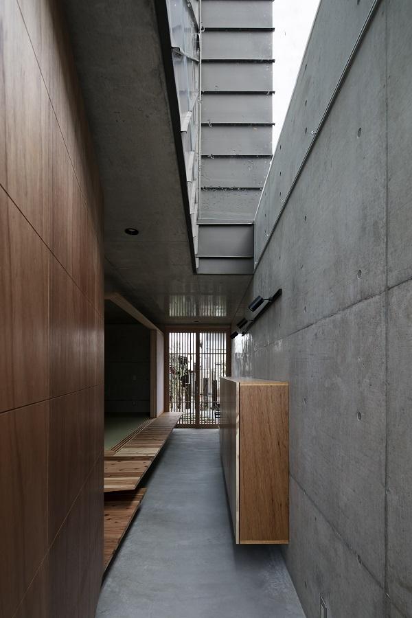 三重県 津市 建築家と建てる 打ちっぱなしの家