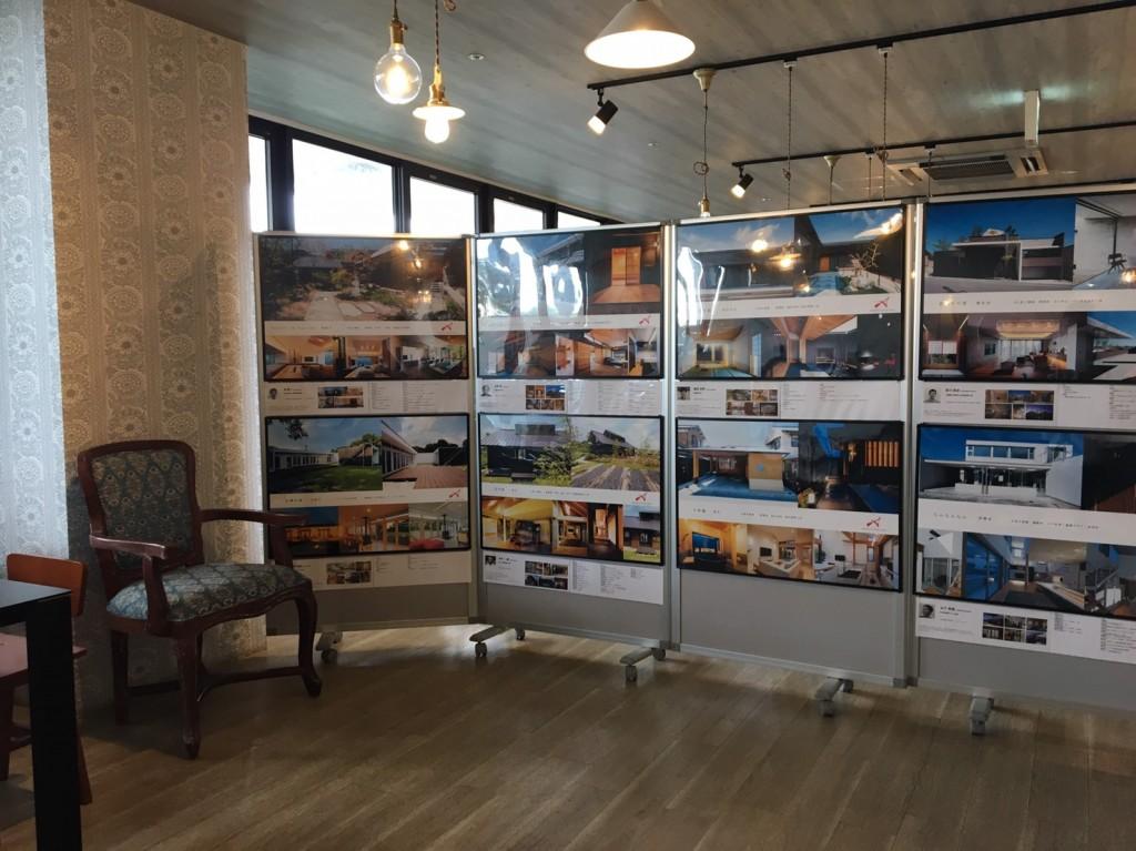 2019年7月21日 三重県津市 建築ギャラリー展 アポアホテルにて 開催