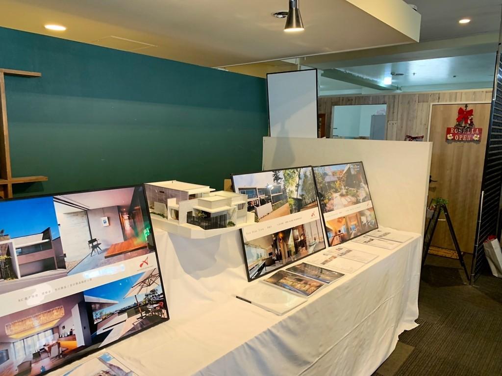 三重県四日市市 アポアホテル2階 建築ギャラリー展開催 注文住宅