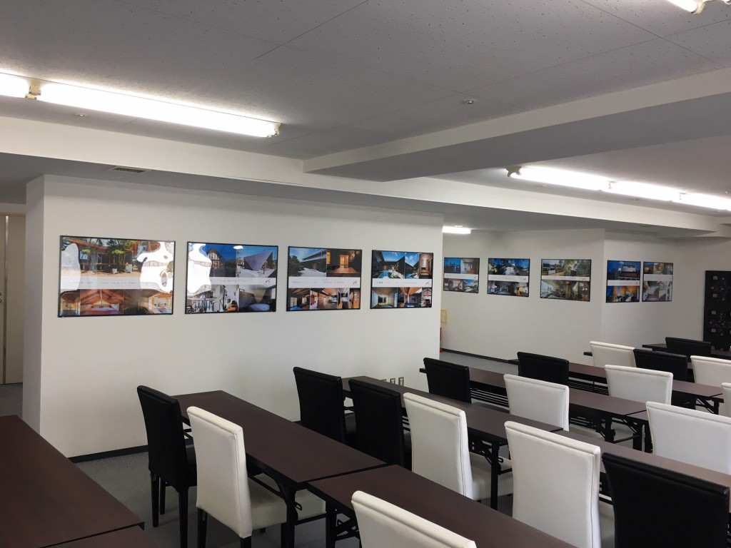 APOAホテル内 ASJ APOAスタジオ 建築家展 家づくり無料相談会