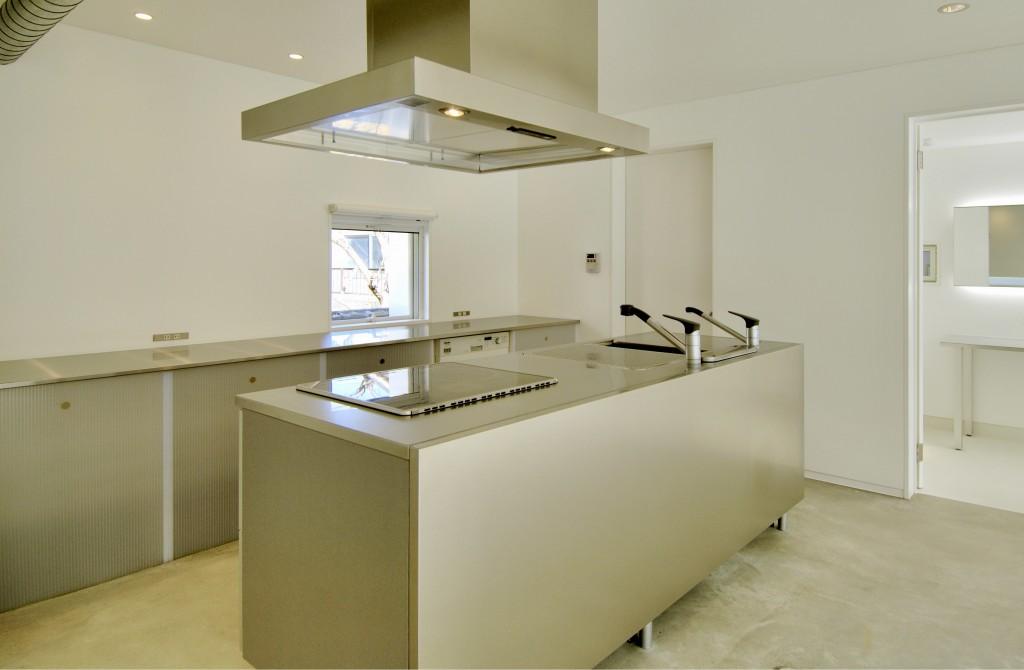 三重県 建築家 家づくり  注文住宅 見せるキッチン アイランドキッチン