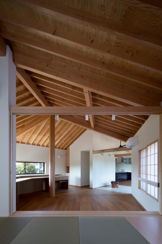 広がりある空間を作る 収納にも一工夫を 必要な場所に必要な分作る