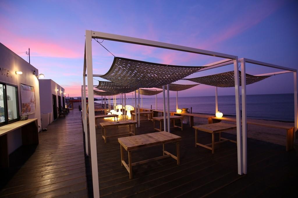 三重県津市 建築家との家づくり専門店 アポア 海の家APOA HALLO プロジェクションマッピング