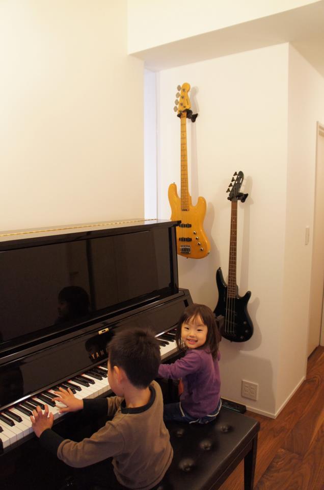 三重県鈴鹿市 建築家との家づくり 音楽ルーム 注文住宅 ファミリーコンサート