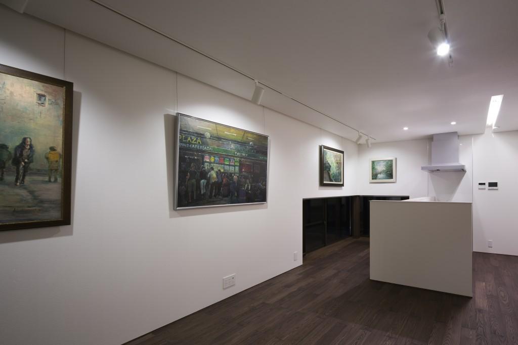 三重県津市 建築家との家づくり 絵画を飾る家 絵画のコレクション 注文住宅