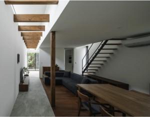 三重県建築家と建てる土間のある家