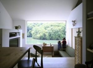 景色を独り占めした家 三重県建築家と建てる家