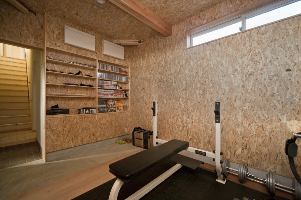 三重県松阪市 建築家との家づくり トレーニングジムを持つ家 注文住宅 新築