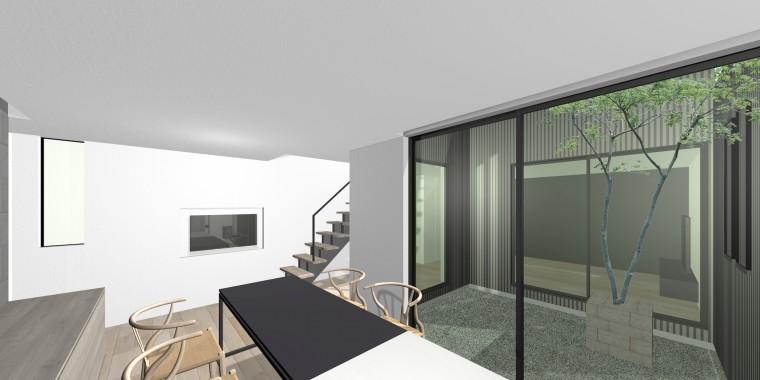 中庭の家 名古屋市天白区 オープンハウス 建築家との家づくり