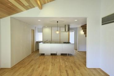 キッチン すっきりしたデザインと和の空間 愛知県 三重県 岐阜県 四日市