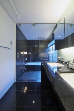 社宮司の家 洗面台