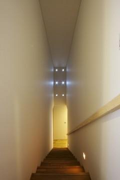 愛北の家 階段