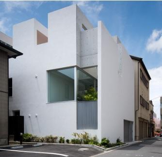 三重県 建築家と建てる家 敷地が立て込んだ位置にある家
