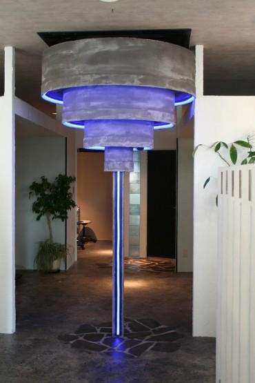 インテリア照明 LED ブルー照明 シンボル