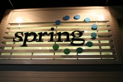 美容室 スプリング 店舗デザイン設計