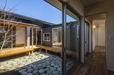 庭 和光の家 建築家 梶浦 博昭