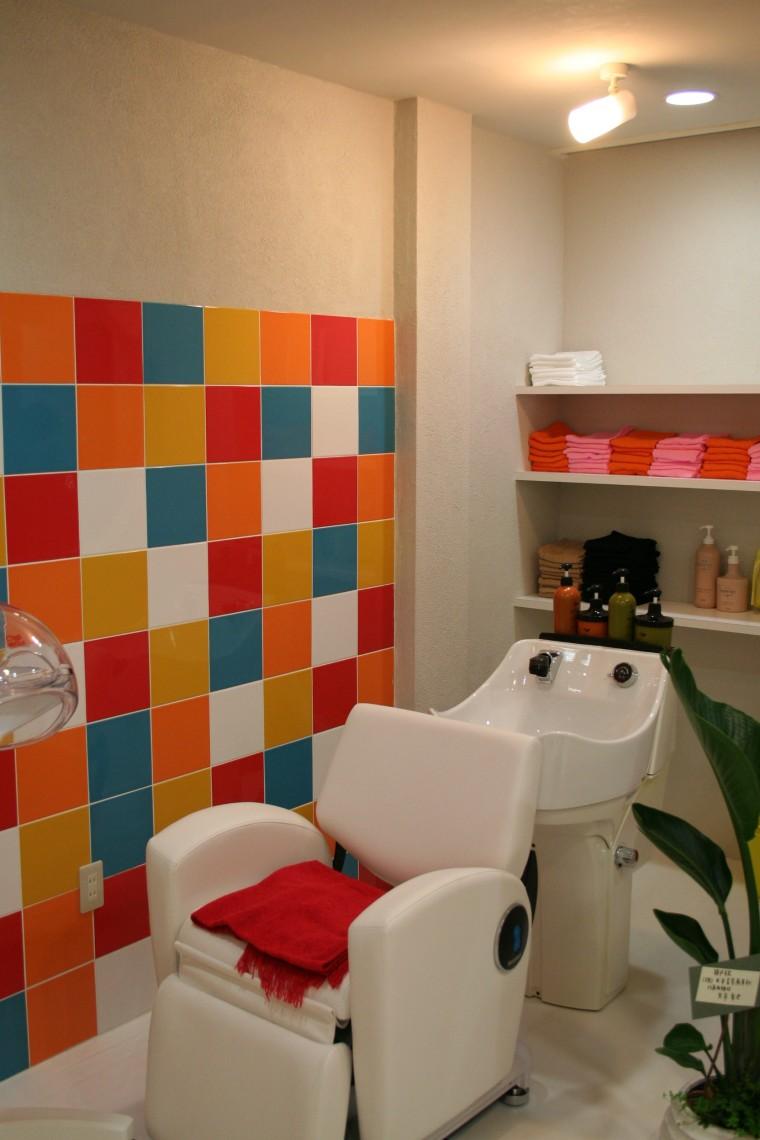 美容室 シャンプースペース 建築家のつくる店