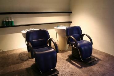 カット椅子 シャンプースペース 美容室 デザイン
