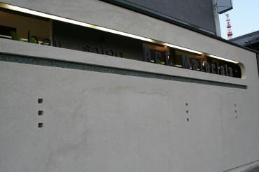 小窓 FIX ライン 割れにくい窓 塗り壁 デザイナーズ
