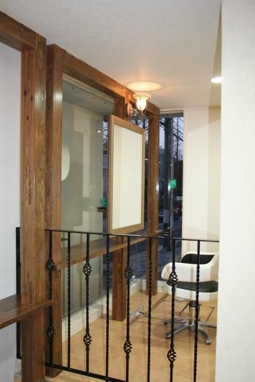 木製ドア アイアンフェンス ダウンライト 建築家 デザイナー