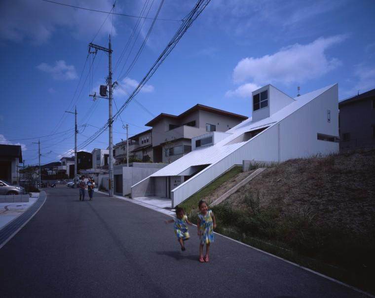 階段の家 写真家 市川かおり 建築家 岸本 貴信