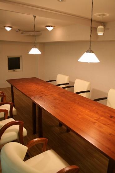 ロフトの会議室