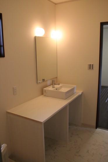 洗面台 建築家とつくる家 注文住宅 設計施工