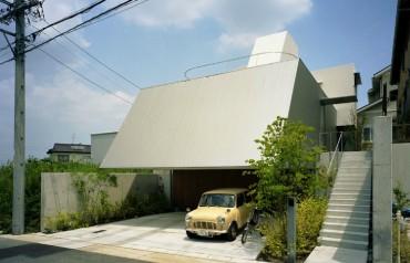 三重県 津市建築家と建てる新築住宅 2階リビングの家