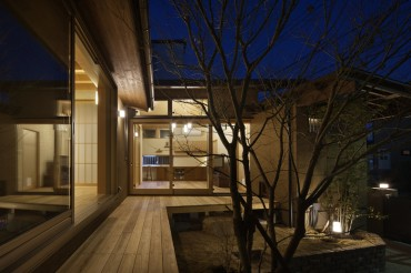 三重県 建築家と建てる中庭のある家