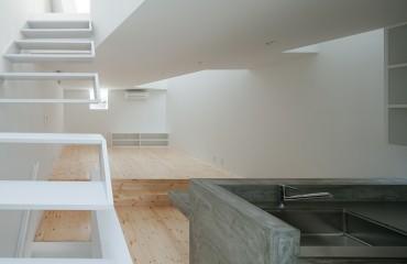 階段かっこいい 三重県 建築家と建てる家