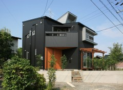 外観 五層の家 建築家 梶浦 博昭