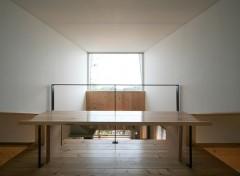 吹き抜け テーブル 五層の家 建築家 梶浦 博昭