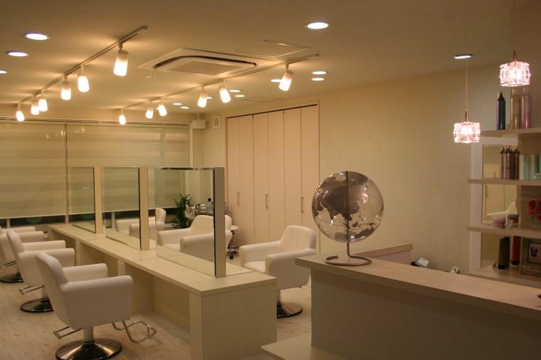 美容室 スプリング 店舗デザイン設計施工