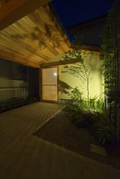 岩倉の家 玄関