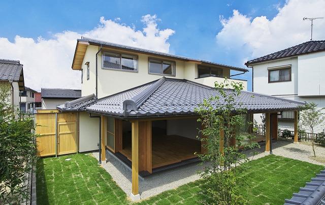 和風 外観 建築家のつくる家 愛知県 三重県 四日市 津 桑名 名古屋スタジオ