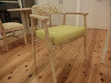 リビング 玄関 オリジナル家具 椅子 ナチュラル 建築家 浜田 強