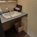 洗面 蛇口 鏡 手洗い ゴミ箱 洗面器 アンティーク 木 鉄 砂