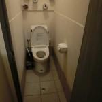 トイレデザイン ウォシュレット タイル トイレットペーパー 狭小住宅 建築家ネットワーク