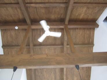 天井のファン 建築家