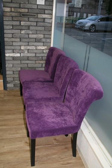椅子 レンガ フローリング デザイン