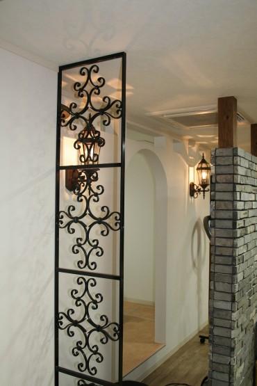アイアン デザイン壁 シンプル高級