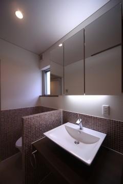 トイレ 洗面所 清流の家 建築家 梶浦 博昭