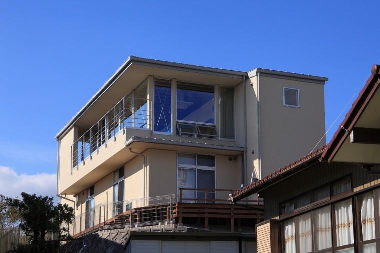 外観 清流の家 建築家 梶浦 博昭