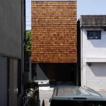 木製外観 木の壁