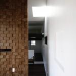 木製壁 装飾壁 通路