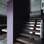 木製階段 紫 和 建築家