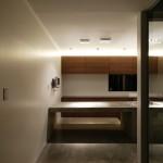 キッチン 間接照明 シンプル