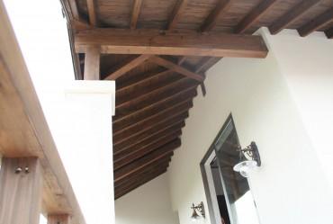 木製の軒天