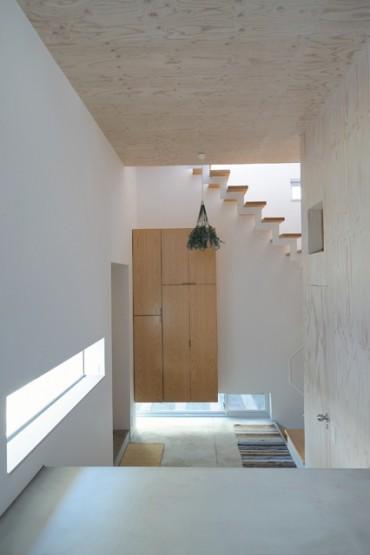 S 建築家 道家 洋 階段 白